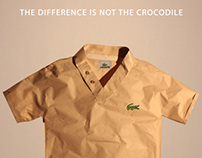 Real vs fake Lacoste
