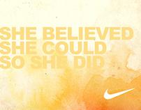 Nike 833 / Tumblr Theme Directions