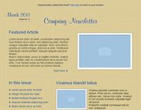 Business E-Newsletter