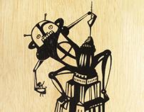 FUTUROLOGY Wooden Tarot