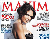 MAXIM Portugal October 2013 :: Olivia Ortiz