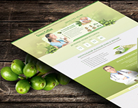 "Landing page ""Green Coffe"""