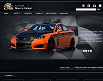 Extreme Motors Web Design
