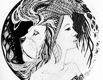 Femininstinct Project - Ink on Paper