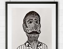 Onofre's moustache