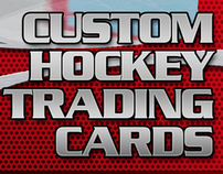 Custom Hockey Trading Cards