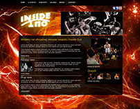 web design for rock band