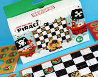 Mini Checkers Pirates