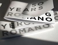 G Romano / Brochure 50 years