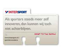 On- en offline awareness campaign INTERSPORT: