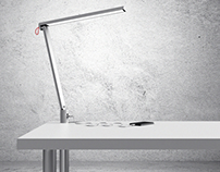 Linnmon IKEA - Integrated Table Lamp