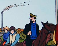 Las aventuras de Tintín y Milú by AGP