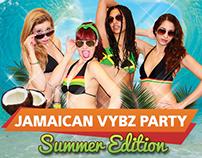 Ragga/Dancehall party flyers
