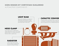 ICONS: AUTOMOTIVE COMPONENTS