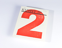 Kunst Issues 1 and 2 Publications Design