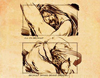 Beowulf storyboards
