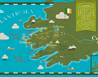 Print - Irish & Chips Map