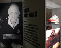 Nike Running-Innovation and Heritage Hallway. Nike WHQ.
