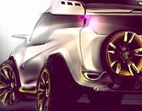 Voux Car concept Design