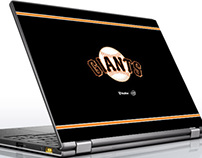 McAfee and Giants Ultrabook sweepstakes