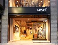 Levi's Concept Store. Shinjuku-Tokyo