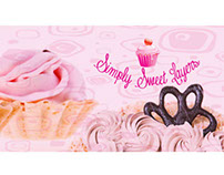 Simply Sweet Layers Cup Cakes / Banner