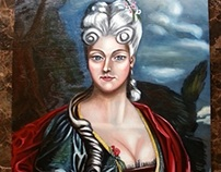 Giovanna Pallominy A.D 1780 Florence Italy By Pallominy