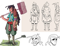 Visual Development Progress