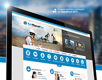 Graphic Layout Interface - CORPORATE INTRANET