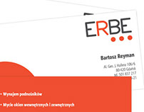corporate identity for ERBE company