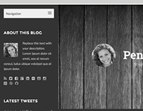 Penoolis - Responsive WordPress Blog Theme