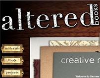 Altered Books Website