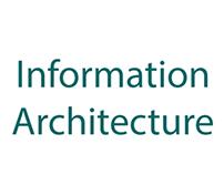 Artisense- Information Architecture