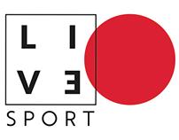 Diseño - Live Sport | Branding