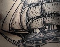 Caravel Tattoo