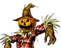 Saranac Scary Good Scarecrow