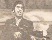 Scarface - Value Drawing