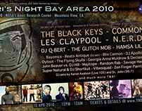 Yuri's Night Bay Area 2010 : Event Flyers
