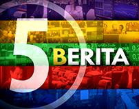 5 Berita (Short Bump)