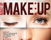Cover of MAKEUP Magazine