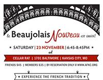 Beaujolais Nouveau Ad