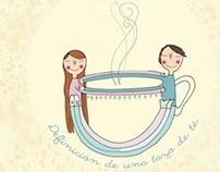 Ilustración para Taller de té