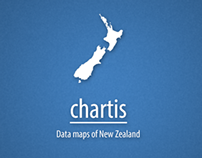 Chartis: Data maps of New Zealand