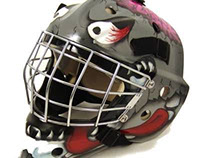 Hockey Goalie Mask- Zak Attack