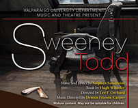 Valparaiso University Sweeney Todd Event Campaign