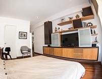 Apartment 3 - TV Wall Unit - Lima.Peru