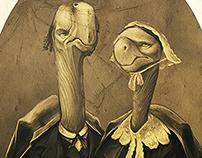 Galapago Couple, Editorial 2013