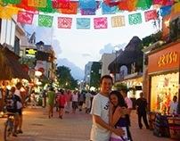Cary & Lalo, Casual Photoshoot. Playa del Carmen, Mx