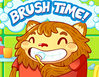 Brush teeth with Momo - App