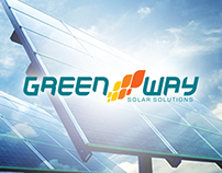 Branding Green Way Solar Solutions